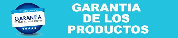 PRODUCTOS CON GARANTÍA TOTAL DEL PROVEEDOR