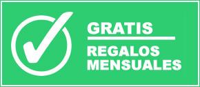 REGALOS GRATIS TODOS LOS MESES