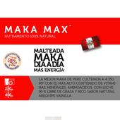BEBIDA MALTEADA MAKA MAX NATURASOL BOTE X 250 GRAMOS SABOR VAINILLA AREQUIPE AUMENTA LAS DEFENSAS EN EL ORGANISMO PROTEINA DE SOYA MACA PERUANA CASEINATO DE CALCIO ZINC VITAMINA D3 MAXCORAL NATURCORAL GENOXIDIL ::: DOGUEN.COM CENTRO COMERCIAL VIRTUAL COLOMBIANO