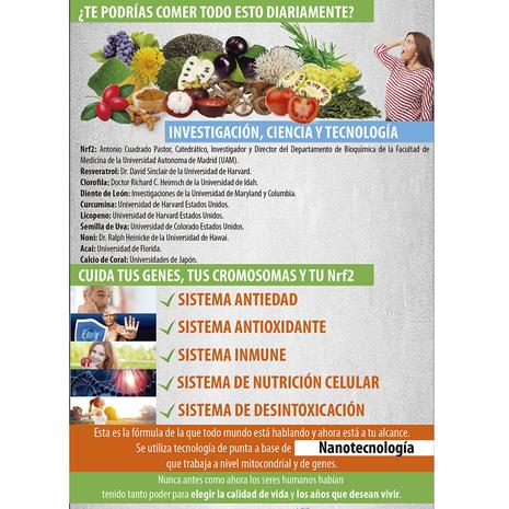 ▷【 GENOXIDIL 】® ACTIVADOR DE LA PROTEINA NRF2 NUTRICIÓN CELULAR RECONSTITUYENTE CONTIENE GLUTATION SHIITAKE CURCUMINA FITO NUTRIENTES REJUVENECEDOR CELULAR NANO TECNOLOGIA ::: DOGUEN.COM CENTRO COMERCIAL VIRTUAL COLOMBIANO 280000 808015001773  MOVANET TECHNOLOGY E.U.   ❤️ Nutrición Celular SUPLEMENTOS NUTRICIONALES 5 genoxidil nbn living colombia regenerador celular multivitaminico anti cancerigeno nano tecnologia doguen centro comercial virtual col